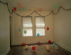 Untitled (Balloons in a room)